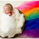 29 Palms Newborn Photographer, rainbow baby