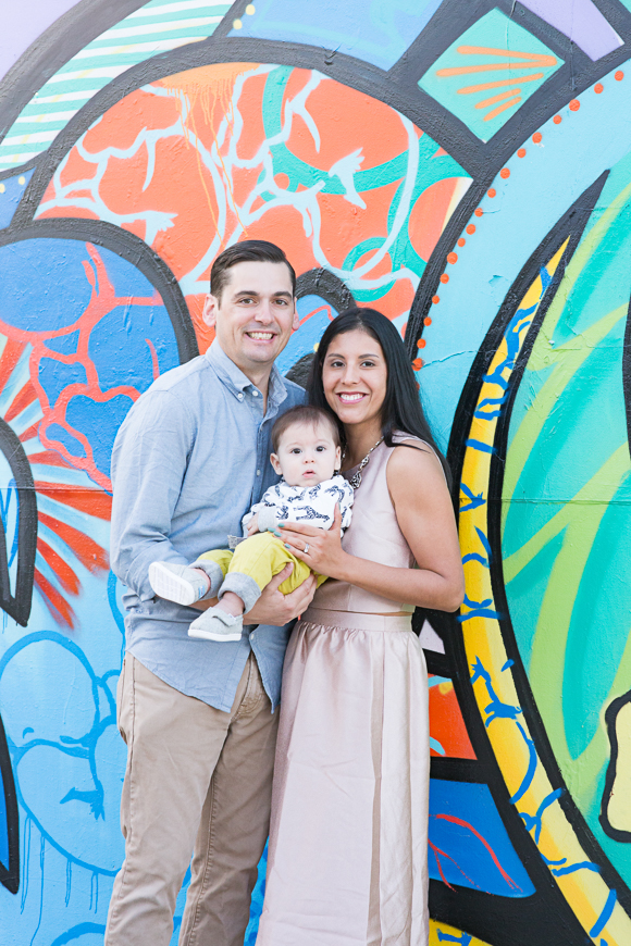 Miami Wynwood Walls Family Session
