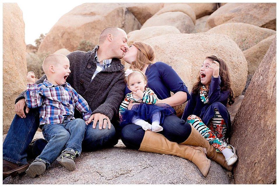 Joshua Tree Family Photography