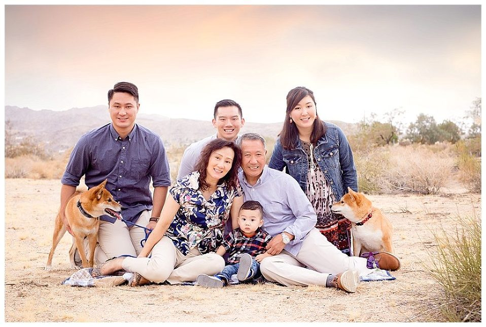 Great ideas for large family posing