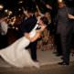 sparkler exit, So Cal wedding photographer