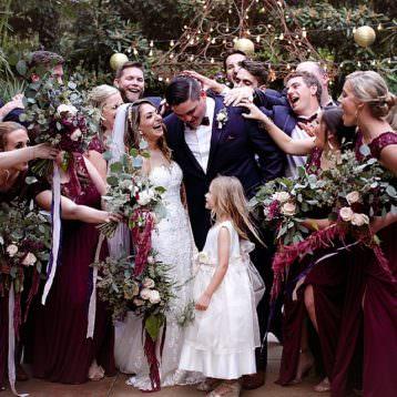 Marietta wedding photographer, bridal party