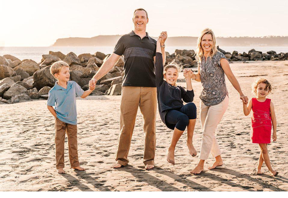Fun family photos in Oceanside, fun family photos in NOrth County, fun family photos in Carlsbad